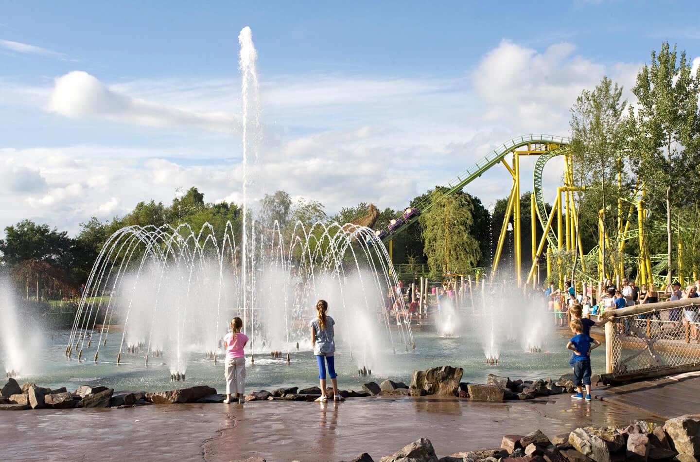 Pretpark fonteinenshow