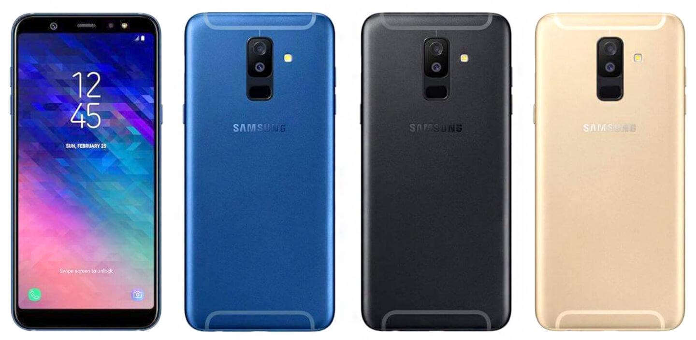 Samsung Galaxy A6 smartphones