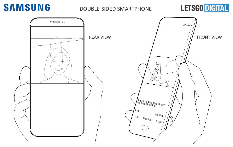 Smartphone met dubbel display