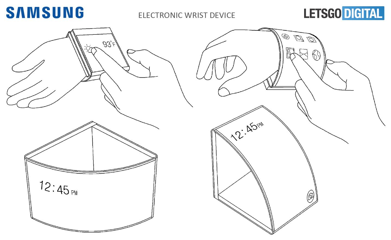 Smartphone met flexibel scherm