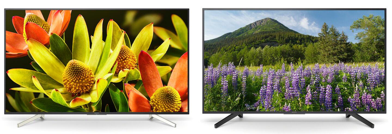 Sony 4K TV modellen