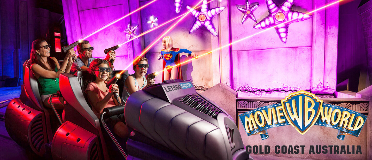 Superman dark rides