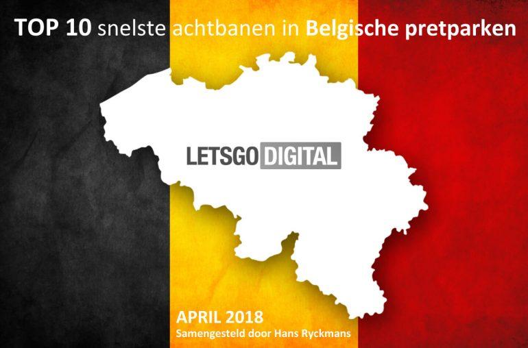 Top 10 snelste achtbanen Belgie
