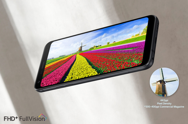 LG Q7 middenklasse smartphone