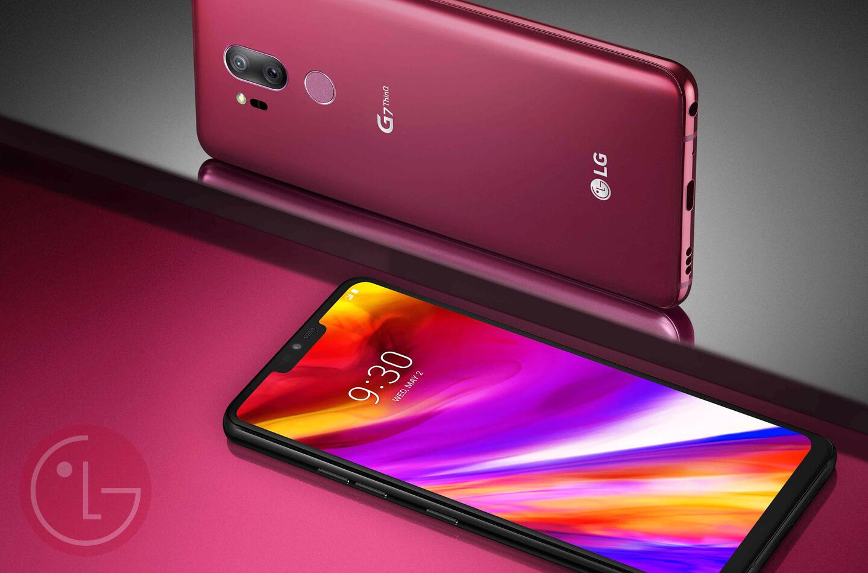 Nieuwe smartphone LG