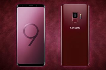 Samsung Galaxy S9 Burgundy Red