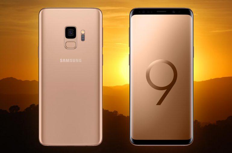 Samsung Galaxy S9 Sunrise Gold