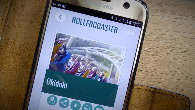Bobbejaanland smartphone app