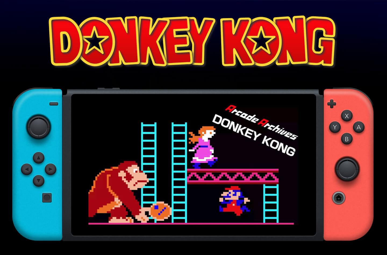 Donkey Kong arcadespel
