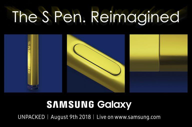 Galaxy Note 9 introductie
