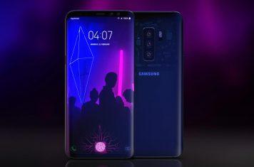 Galaxy S10 Samsung smartphone