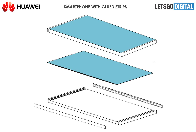 Huawei fullscreen smartphone