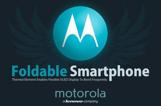Motorola vouwbare smartphone