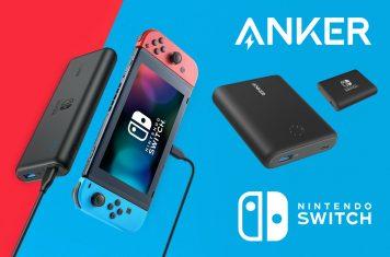 Nintendo Switch powerbank accessoire van Anker