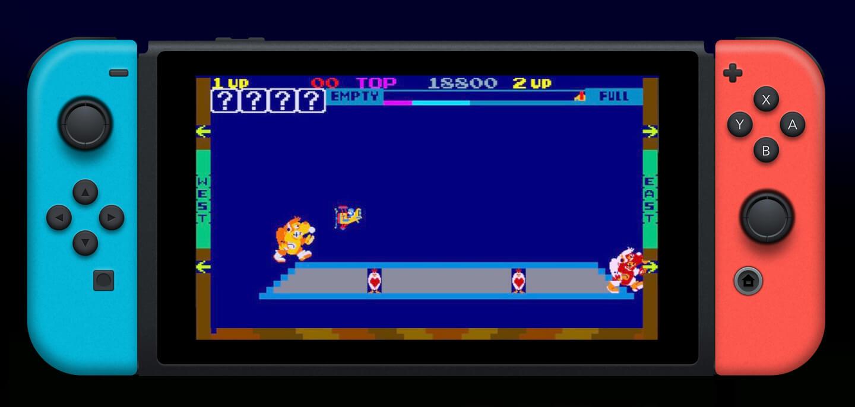 Nintendo Switch retro games