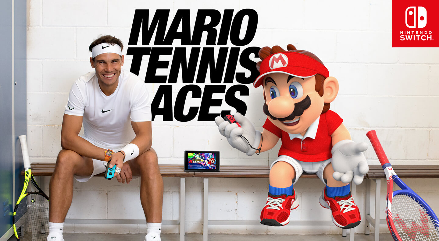 Nintendo tennis game