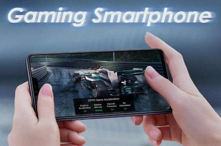 Oppo R15 Pro gaming smartphone