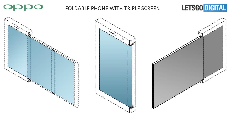 Oppo vouwbare smartphone