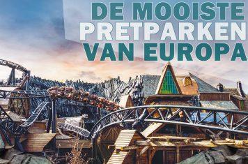 Overzicht pretparken Europa