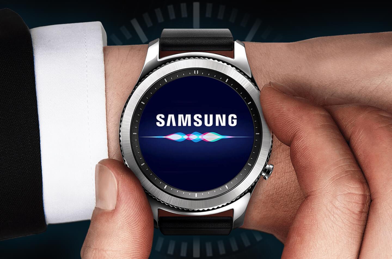 Samsung smartwatch Bixby