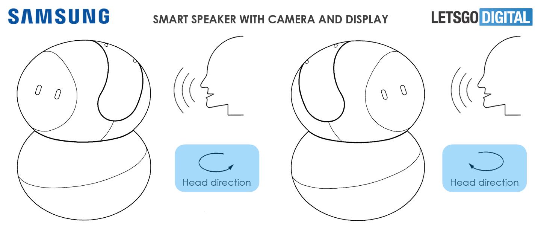 Smart speaker met camera