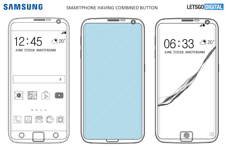 Smartphone vingerafdruksensor