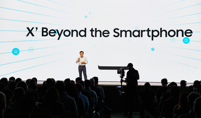 Vouwbare Samsung smartphone