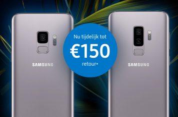 Galaxy S9 kopen met korting