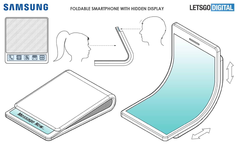 Galaxy X opvouwbare smartphone