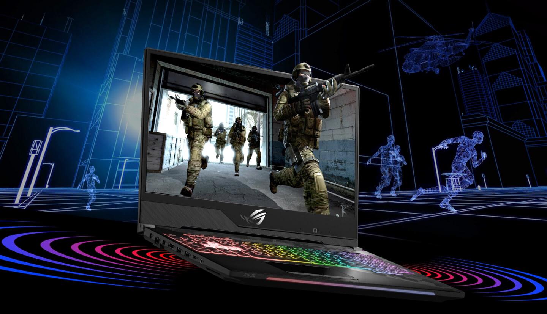 Laptop voor gametoernooien