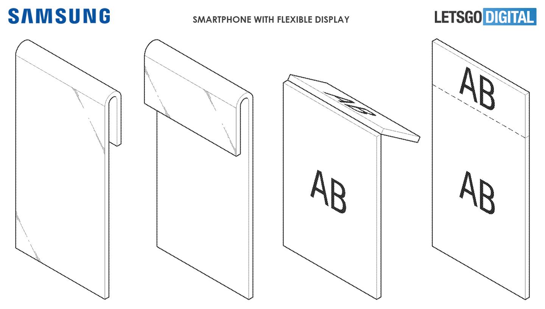 Samsung smartphone flexibel display