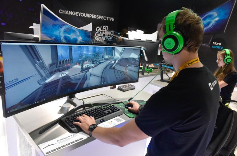 Samsung The Space monitor Gamescom