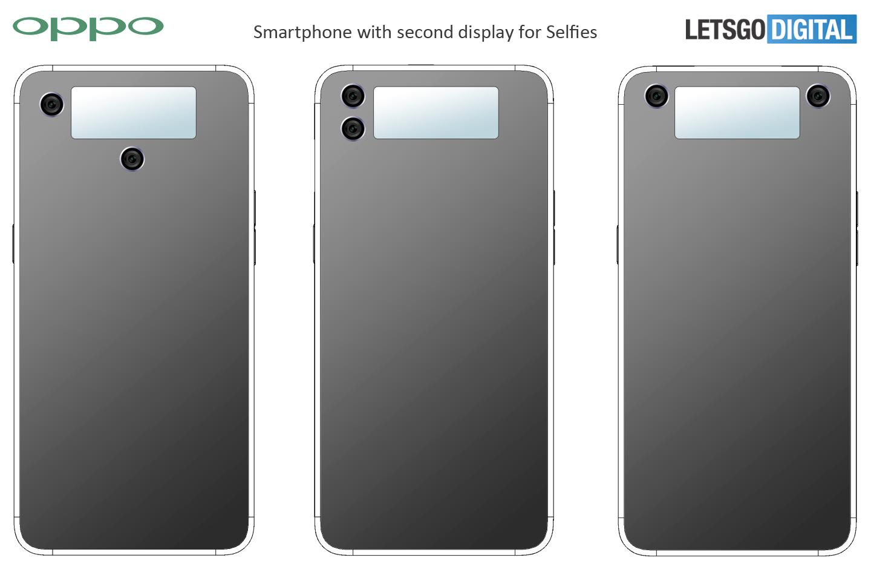 Smartphone met tweede scherm