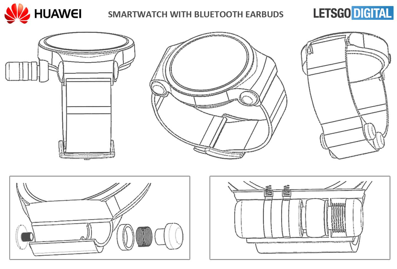 Smartwatch met Bluetooth oordopjes