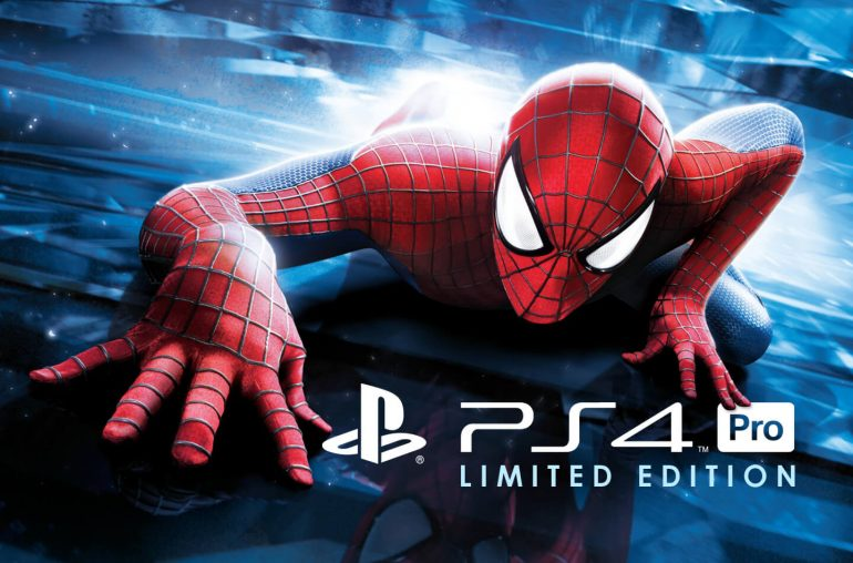 Sony PS4 Pro Spiderman