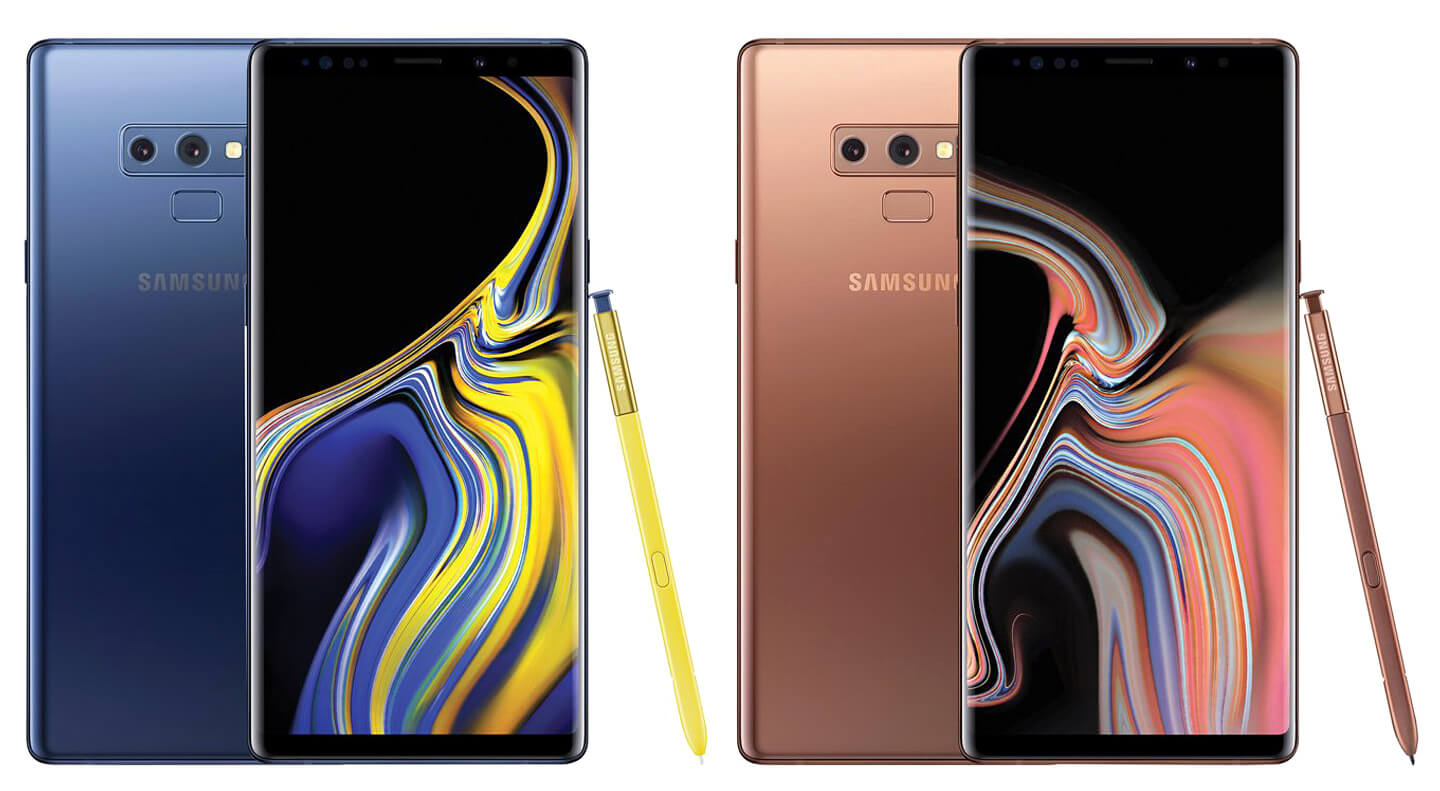 Galaxy Note 9 introductie