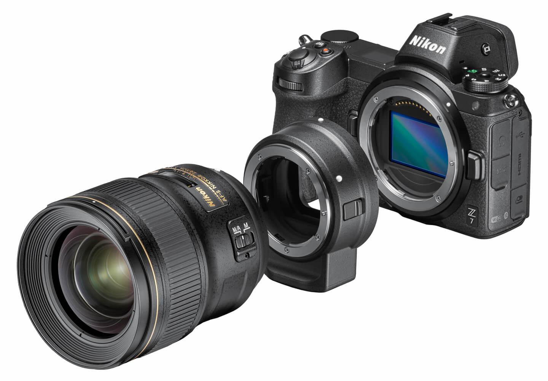 Lensadapter voor Nikkor Z