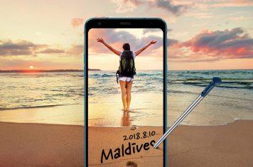 LG Q8 2018 smartphone