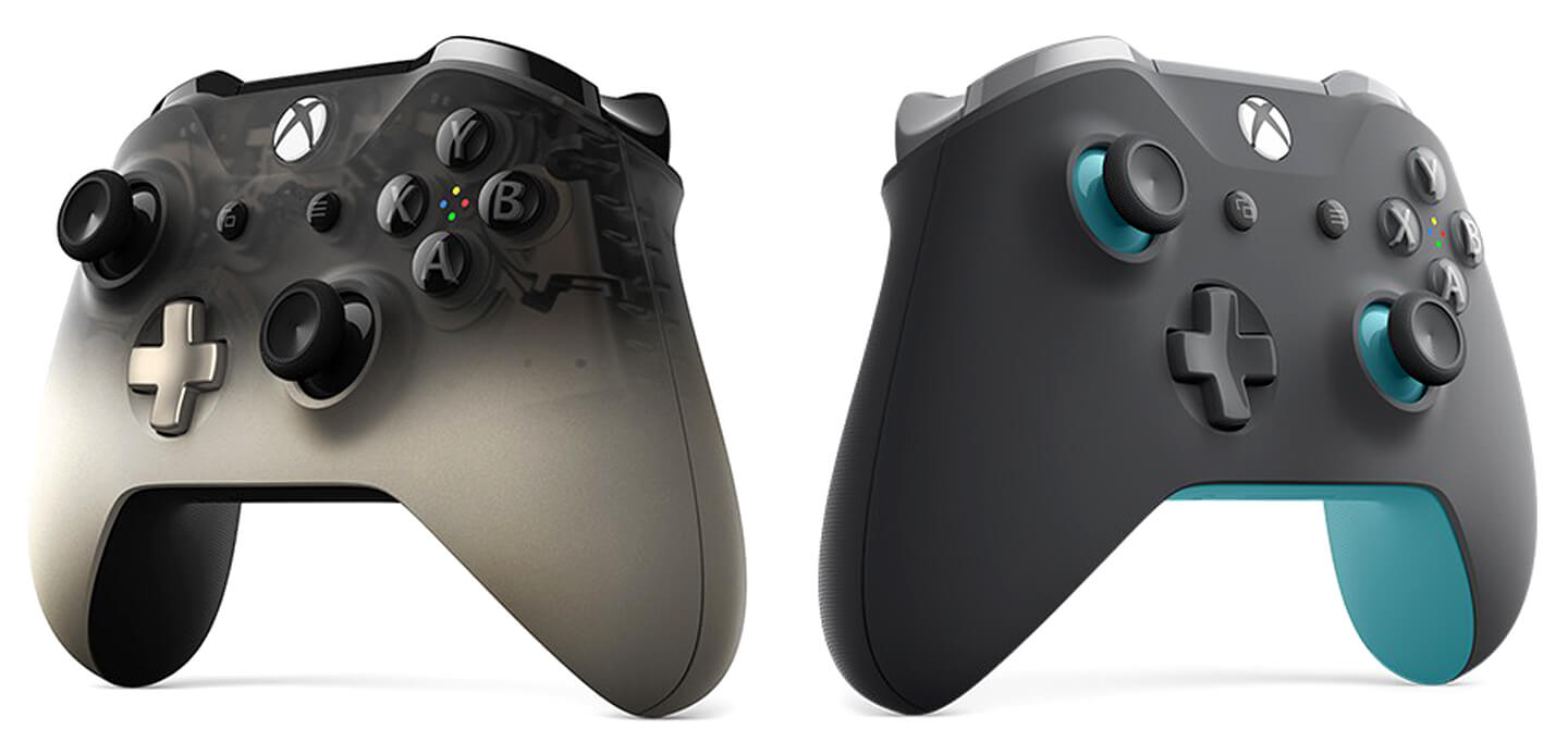 Microsoft Xbox One controllers