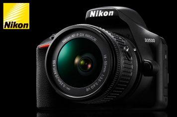 Nikon D3500 spiegelreflexcamera