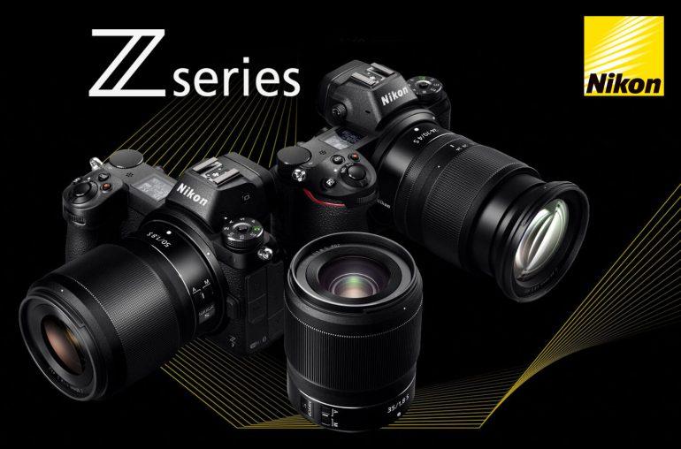 Nikon full-frame systeemcamera's