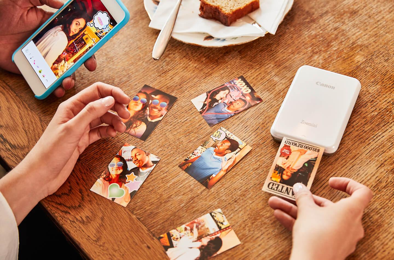 Oplaadbare Canon fotoprinter