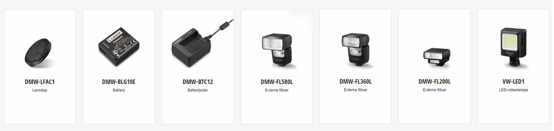 Optionele accessoires