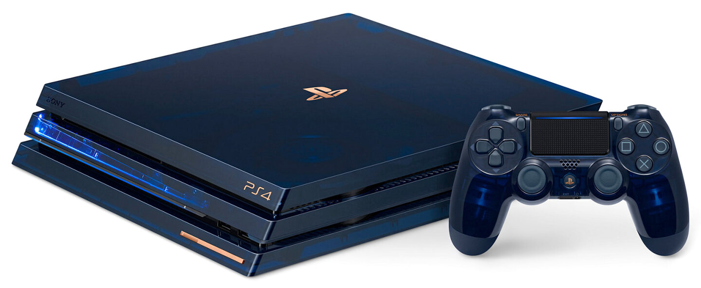 PS4 Pro Limited Edition game console