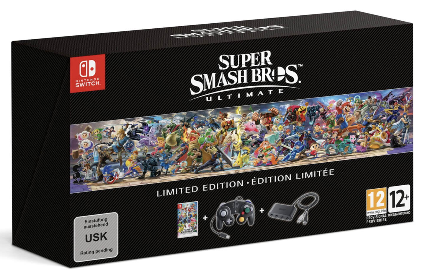 Super Smash Bros Ultimate Limited Edition