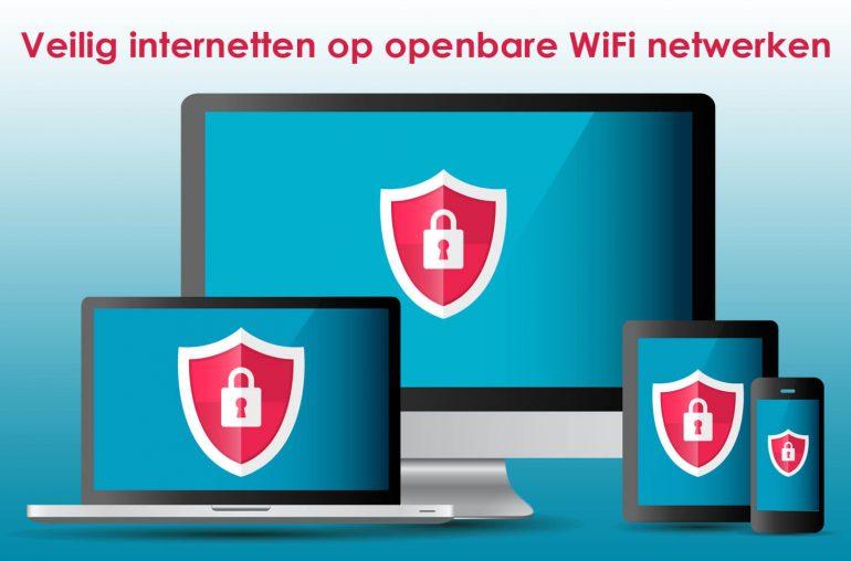 Veilig internetten openbare WiFi netwerken