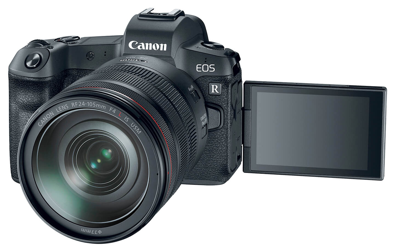 Canon camerasysteem met RF-vatting