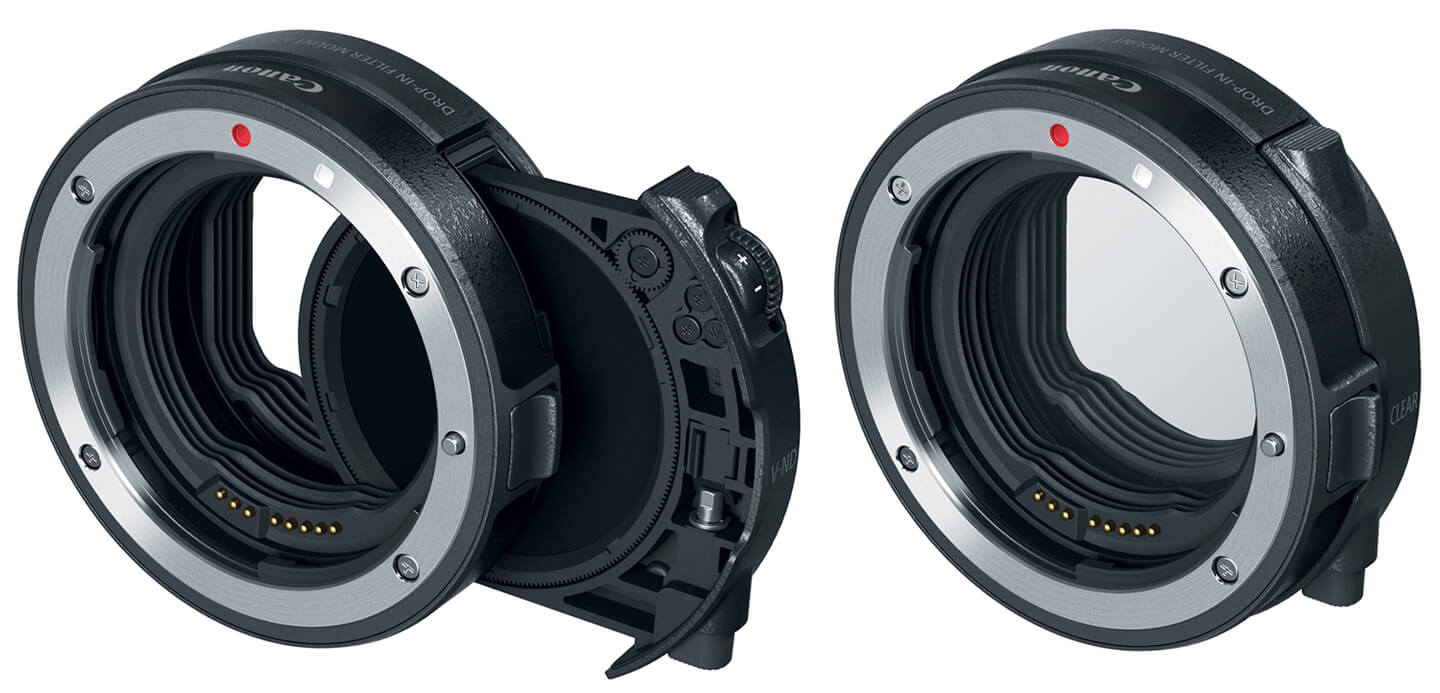 Canon drop-in filter mount adapter