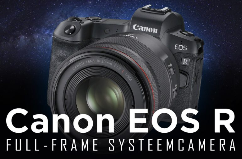 Canon EOS R full-frame systeemcamera