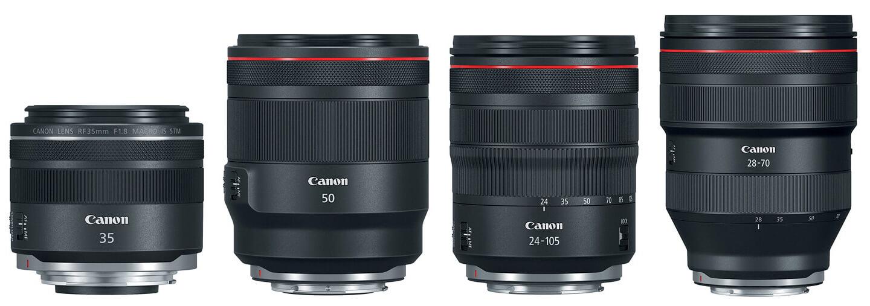 Canon EOS R objectieven
